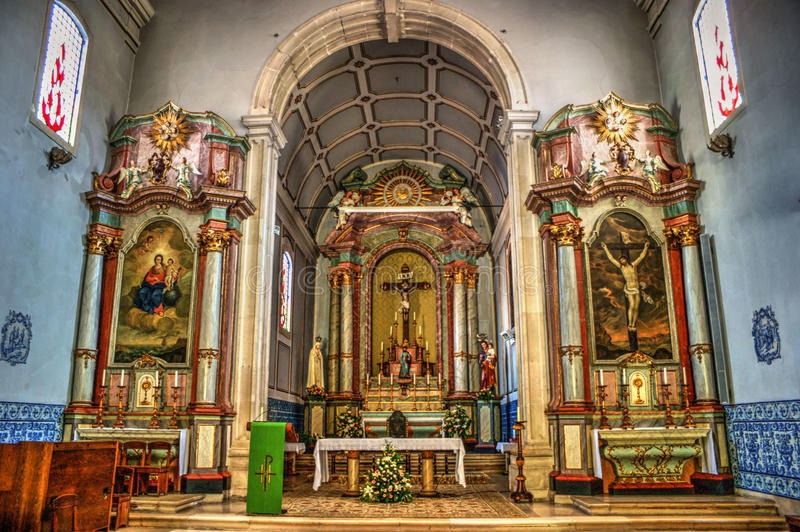 Download Main Chapel Of Mother Church, Figueira Da Foz Stock Photo - Image of main, igreja: 87531208