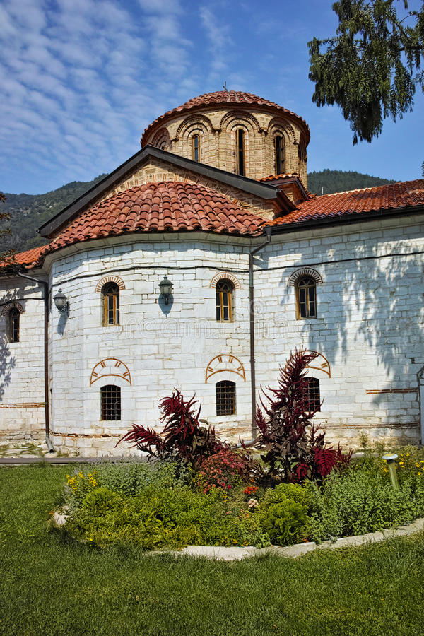 Main church in Medieval Bachkovo Monastery. Bulgaria stock photo