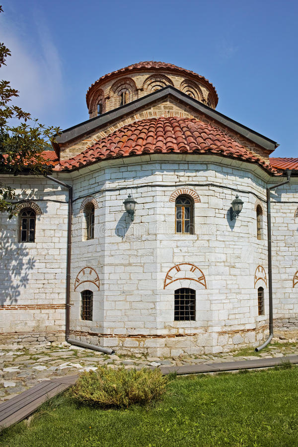 Main church in Medieval Bachkovo Monastery. Bulgaria royalty free stock image