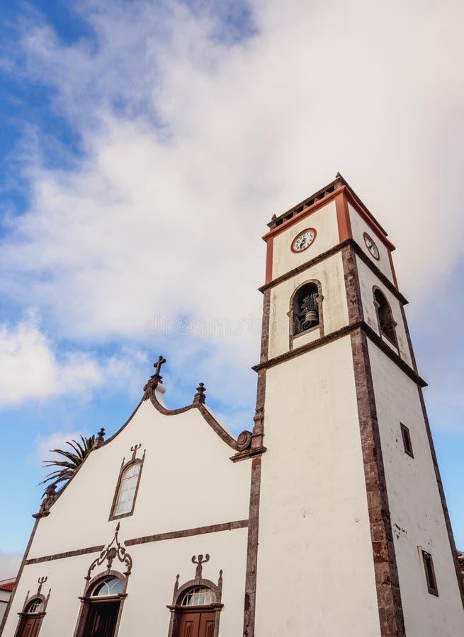 Main Church in Vila do Porto, Santa Maria Island. Main Church, Vila do Porto, Santa Maria Island, Azores, Portugal royalty free stock photos