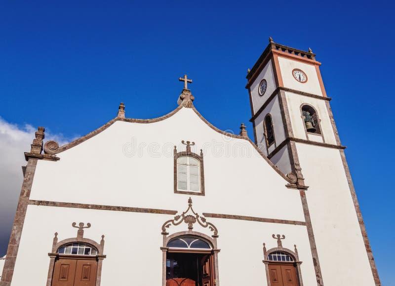Main Church in Vila do Porto, Santa Maria Island. Main Church, Vila do Porto, Santa Maria Island, Azores, Portugal royalty free stock images