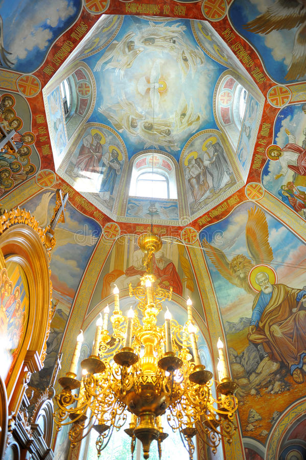 Download Main cupola of a church stock image. Image of christianity - 22622887