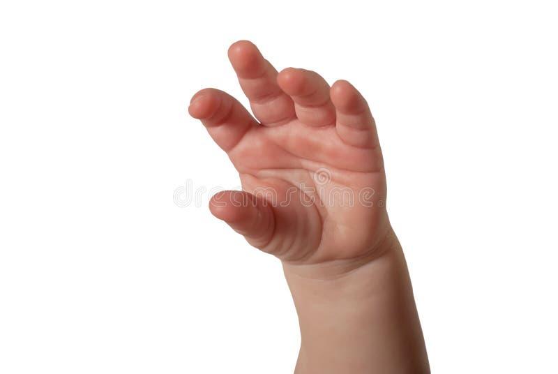 Main d'enfant photos libres de droits