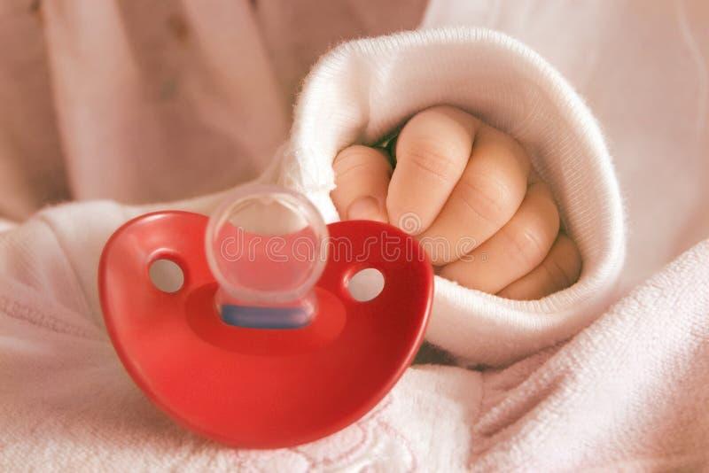 Main de Babys photographie stock libre de droits