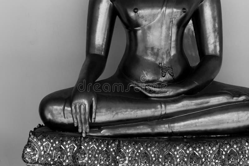 Main de statue de Bouddha photographie stock