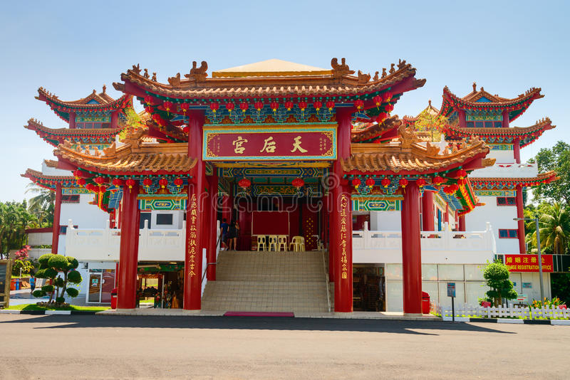 Download Main Entrance In Chinese Thean Hou Temple Editorial Stock Photo - Image: 98764528