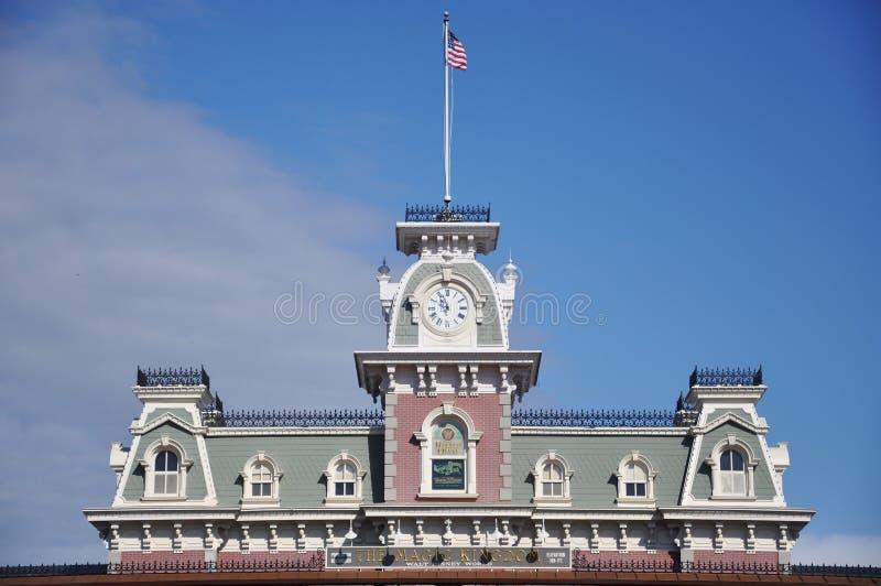Download Main Entrance Of Magic Kingdom Of Disney Editorial Stock Image - Image: 17535799