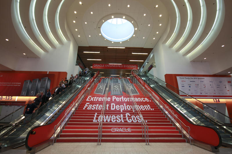 Download Main Entrance To  Oracle OpenWorld Conference Editorial Image - Image: 27291505