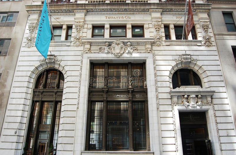 Download Main Entrance To Tiffany Store, New York Editorial Photo - Image: 20048656