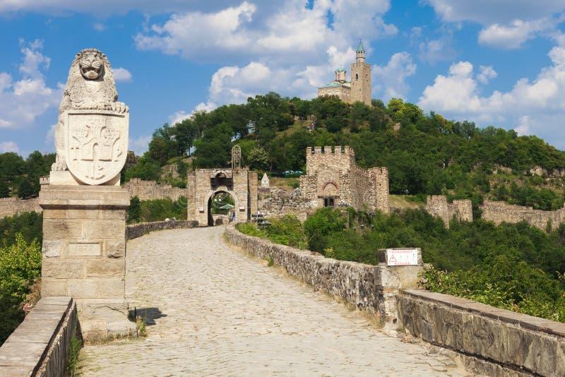 Main Entrance to Tsarevets royalty free stock image