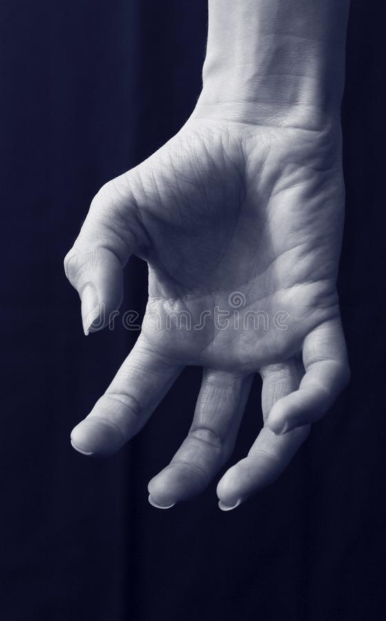 Main fantasmagorique photo libre de droits