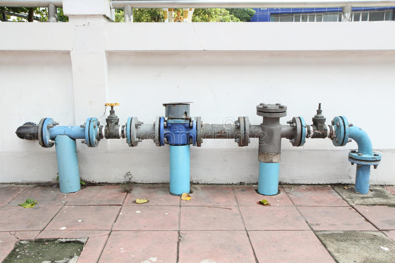 Main faucet of water stock image. Image of valve, background - 61728823