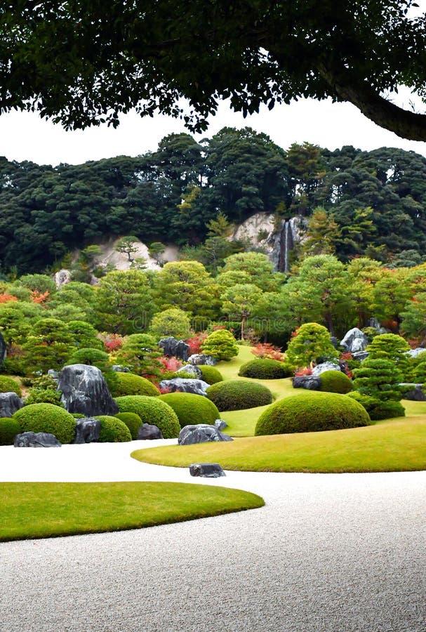 Free Main Garden Of Adachi Museum Of Art During Autumn Stock Photo - 139600200