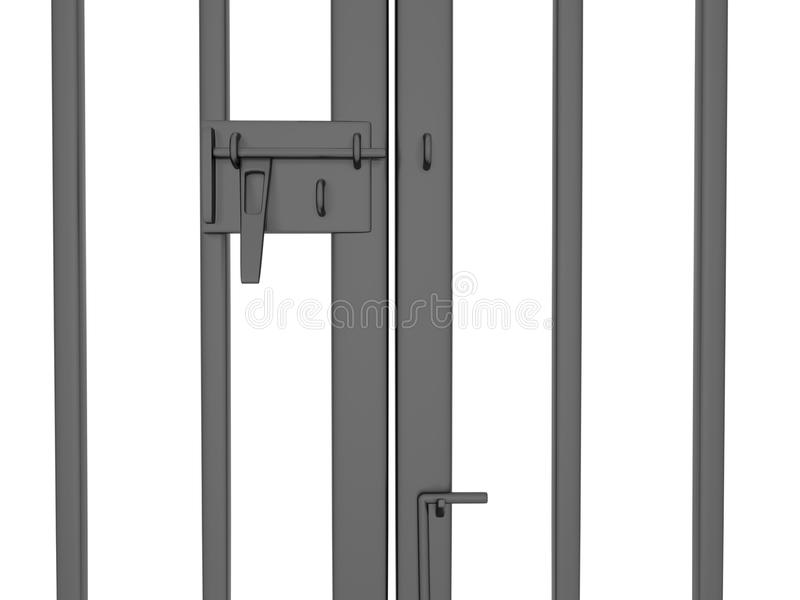Main gate standby open vector illustration
