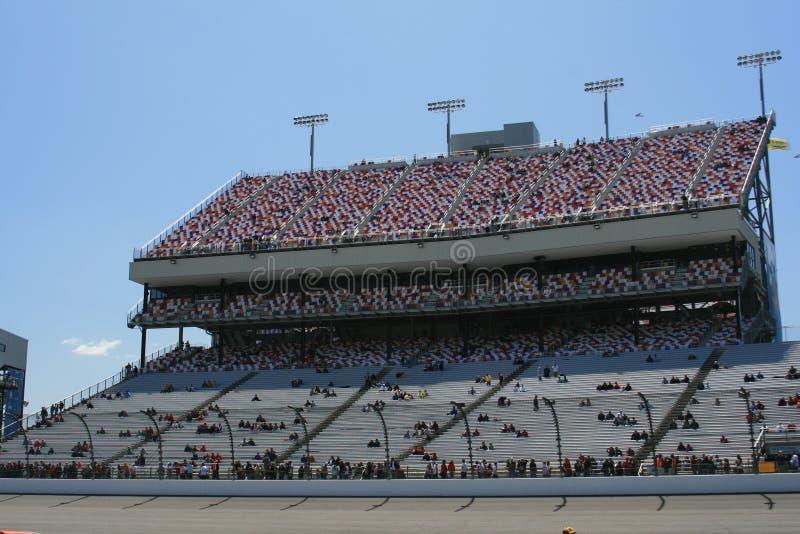 Main Grandstand at Richmond 2. Richmond International Raceway Grandstand Pre Race stock photos
