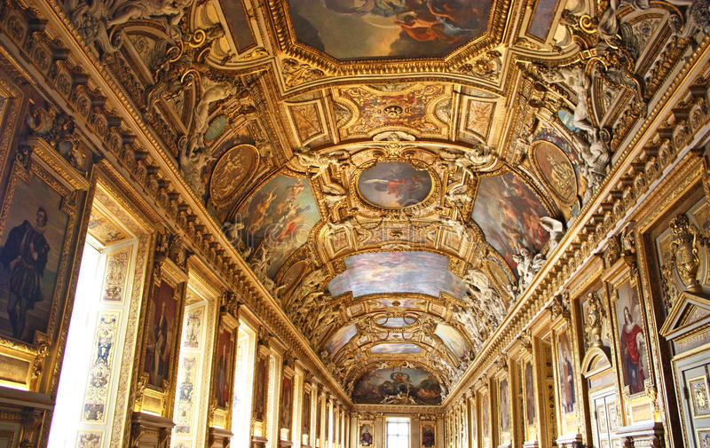 Download Main Hall Of The Palais De Louvre Editorial Stock Photo - Image: 37424888