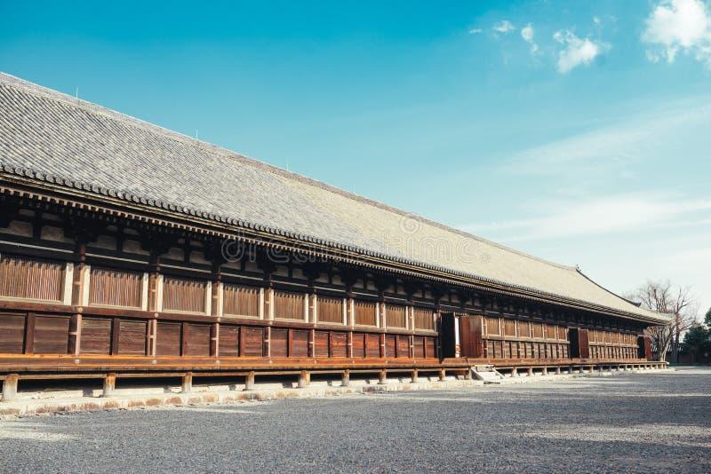 Main Hall of Sanjusangendo Buddhist Temple in Kyoto, Japan. Main Hall of Sanjusangendo Buddhist Temple in Kyoto, Japan stock photography