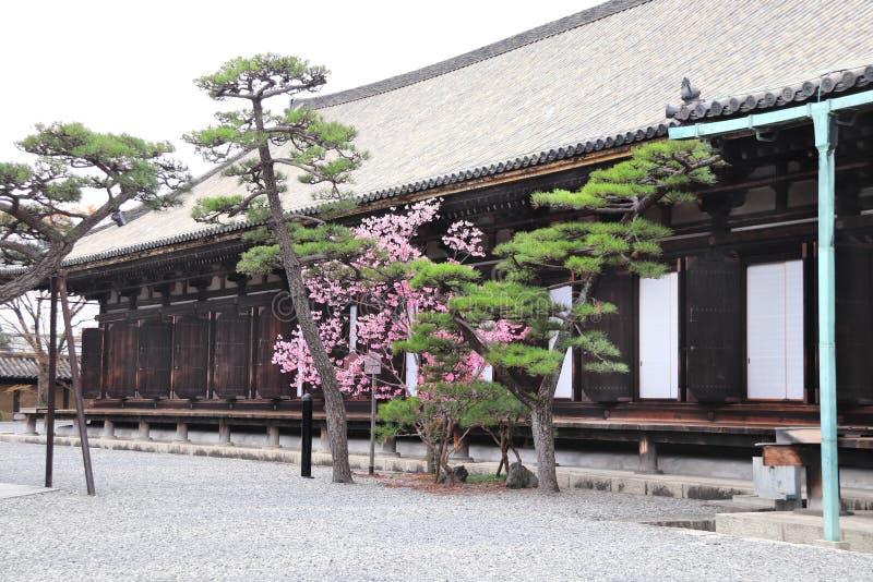 Main Hall of Sanjusangendo Rengeo-in Buddhist Temple, Kyoto, Japan. Main Hall of Sanjusangendo Rengeo-in Buddhist Temple in Kyoto, Japan stock photos