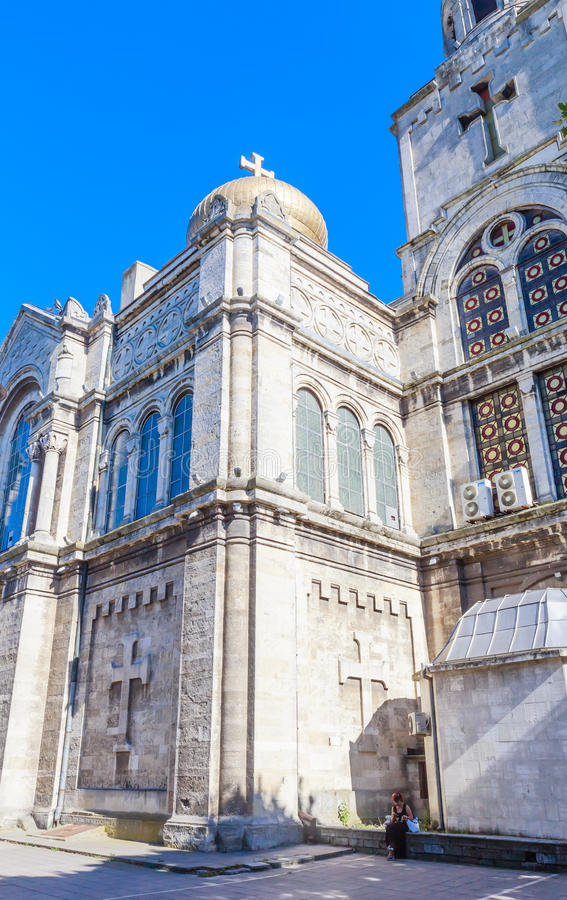 Download Main Orthodox Cathedral Of Varna City In Bulgaria Editorial Photo - Image: 83710551
