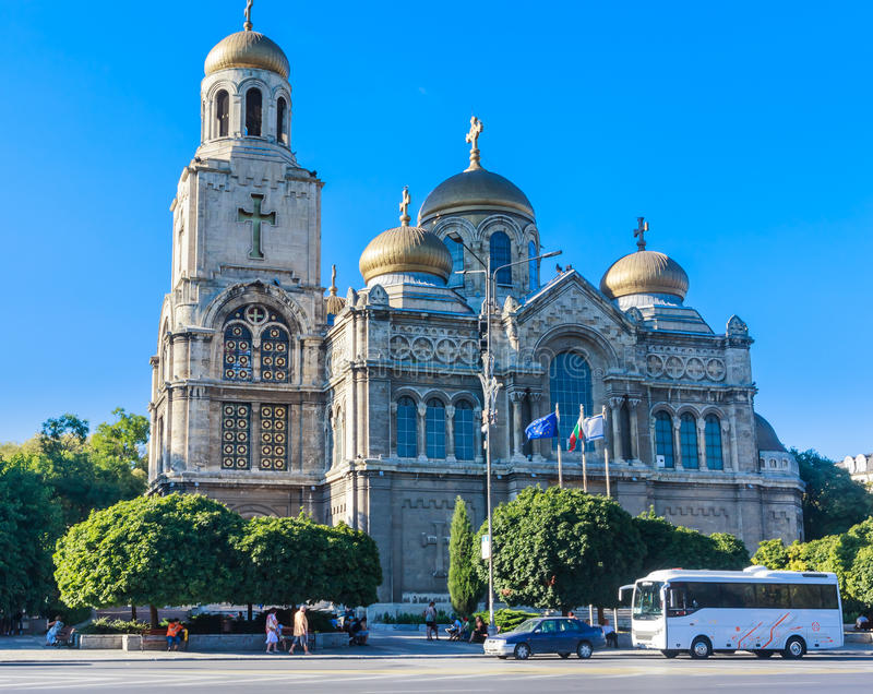 Download Main Orthodox Cathedral Of Varna City In Bulgaria Editorial Image - Image: 83710595