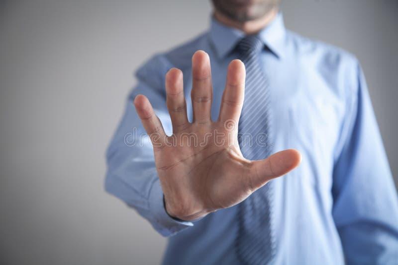 Main ou doigts vides d'apparence d'homme d'affaires Concept d'affaires images libres de droits