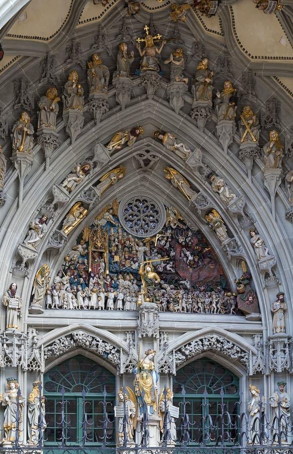 Free Main Portal Of Bern Cathedral Royalty Free Stock Photos - 42890228