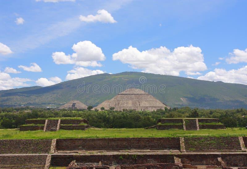 Download Main pyramids stock image. Image of american, maya, civilisation - 10735803