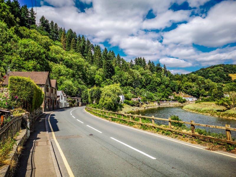 Main Road. The main road of Tintern royalty free stock photos