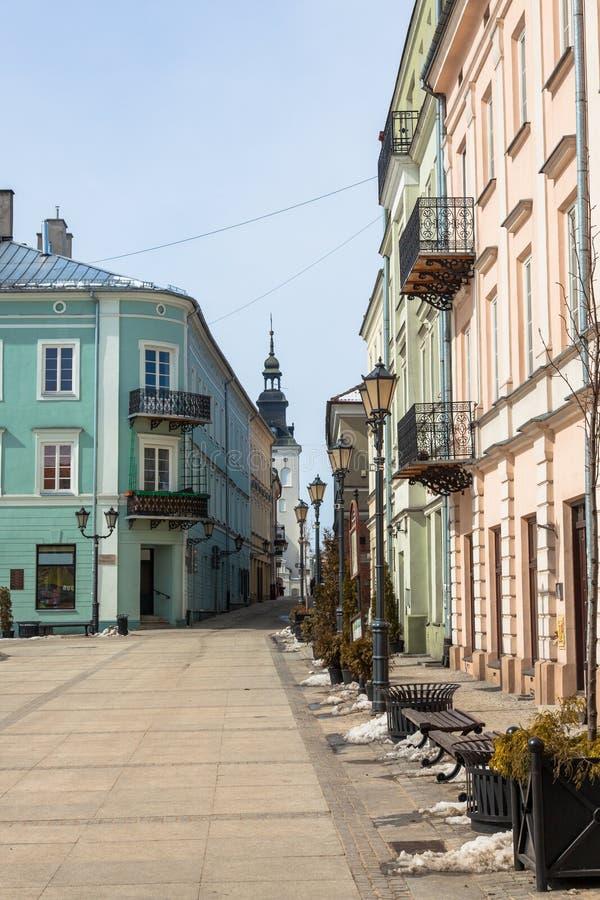 Main Square In Piotrkow Trybunalski Royalty Free Stock Photos