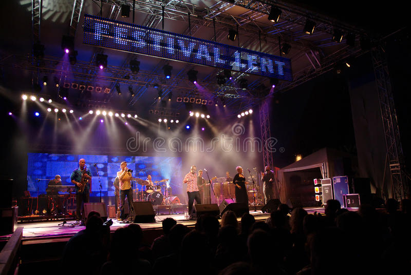 Main Stage at Festival Lent royalty free stock images