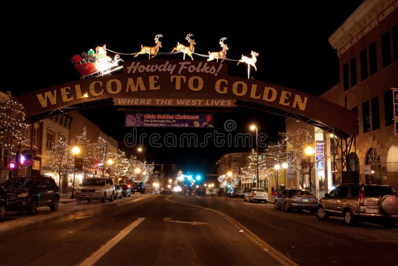 Main Street royaltyfri fotografi