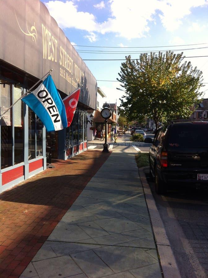 Main Street royaltyfri foto