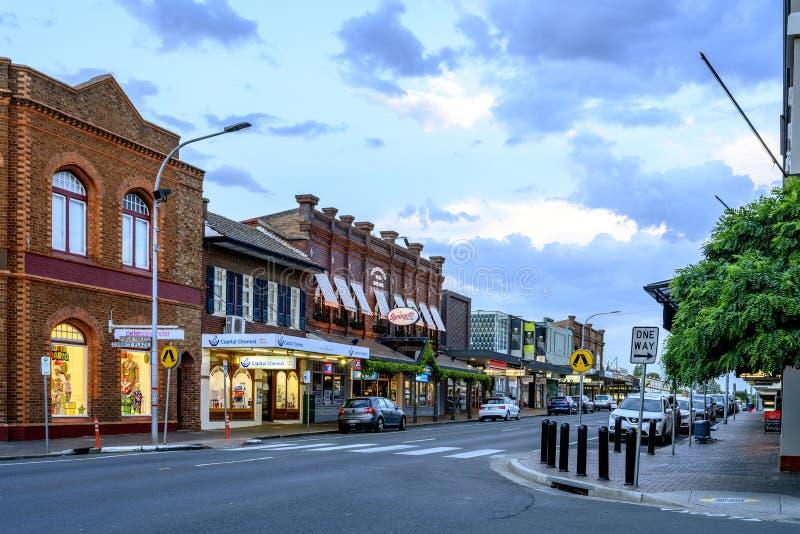 Main Street in Bowral stockfoto