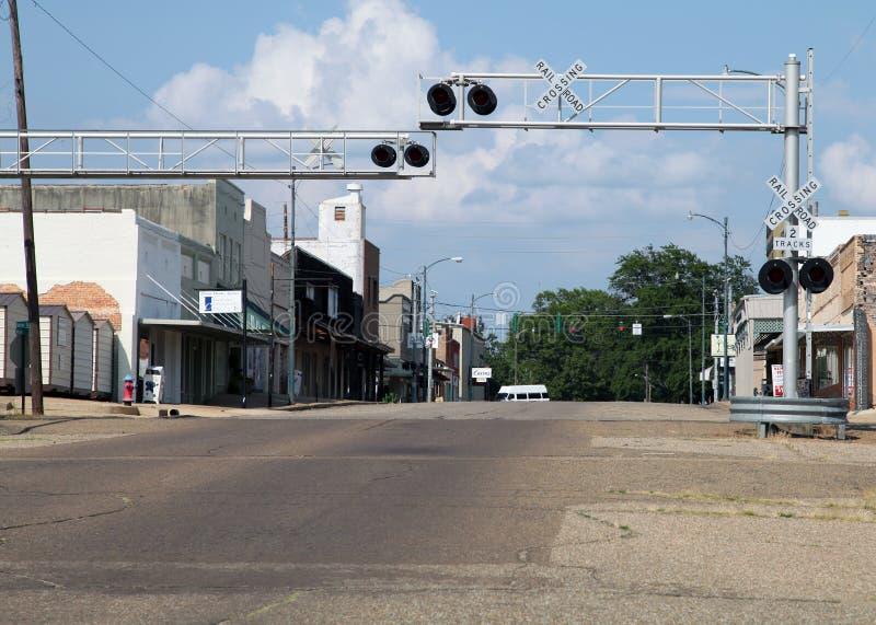 Main Street, de V.S. stock afbeelding