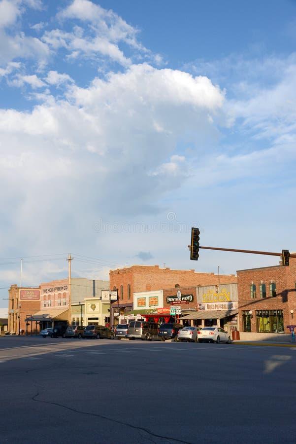Main Street arkivbild