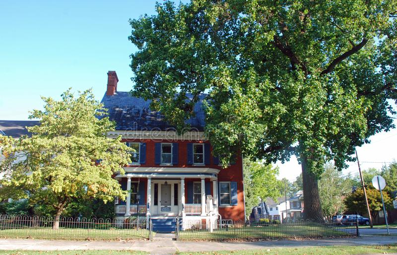Main Street i Maryland royaltyfria bilder