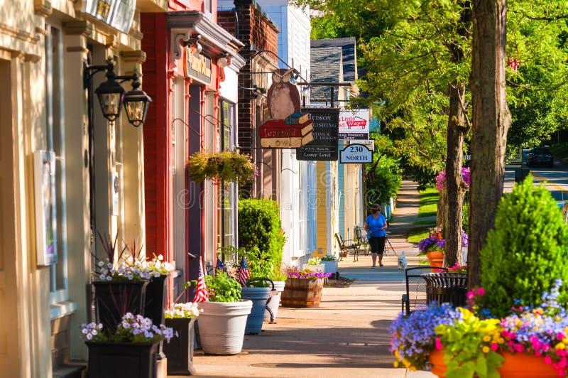 Main Street norte imagens de stock royalty free