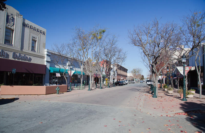 Main Street stock photo