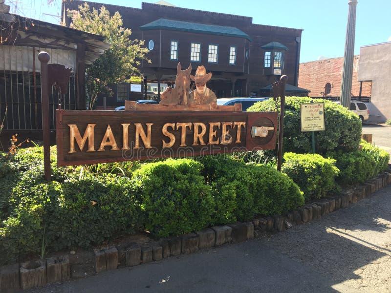 Main street Temecula California stock photos
