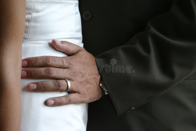 Main sur le gratte-cul photos libres de droits