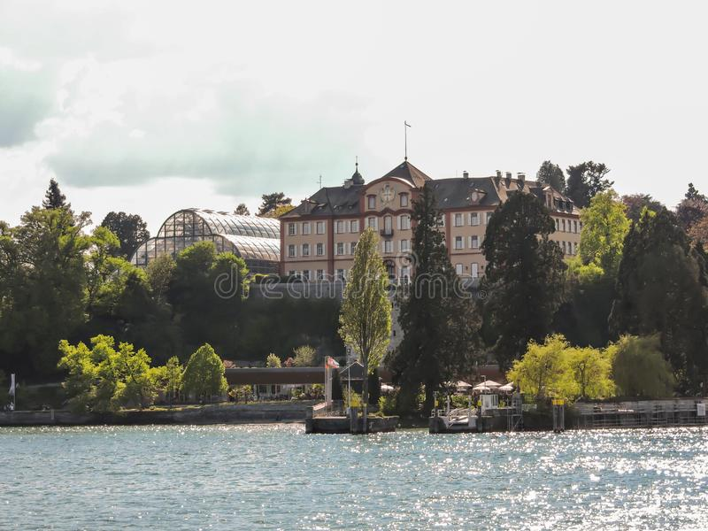 Mainau Island at Lake Constance stock photography