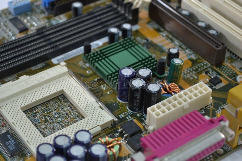 Mainboard do computador fotos de stock