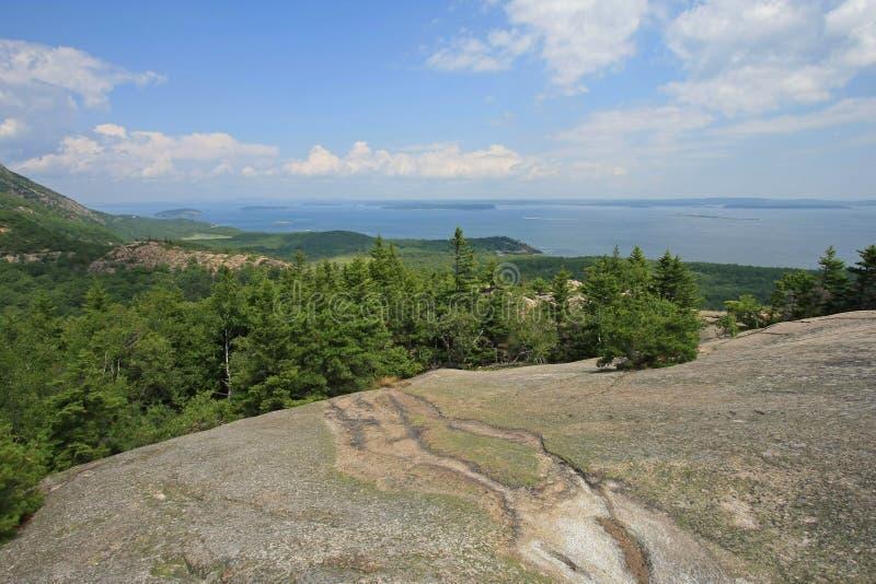 Εθνικό πάρκο Acadia, Μαίην στοκ εικόνες