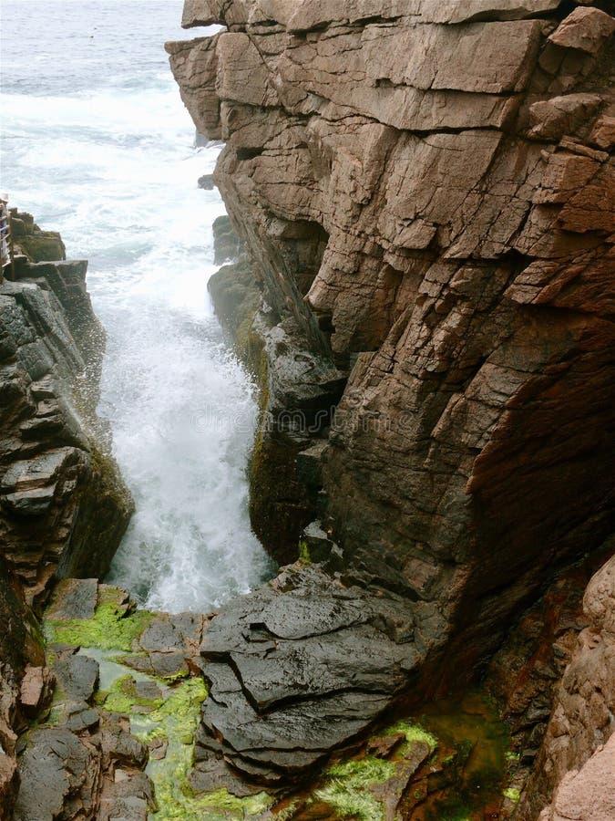 Maine acadia park narodowy obrazy royalty free