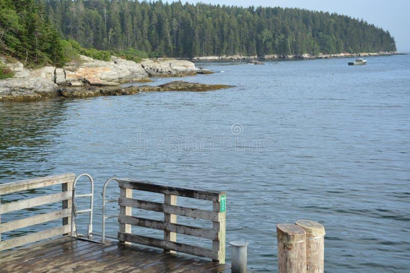 Maine Coast lizenzfreies stockfoto
