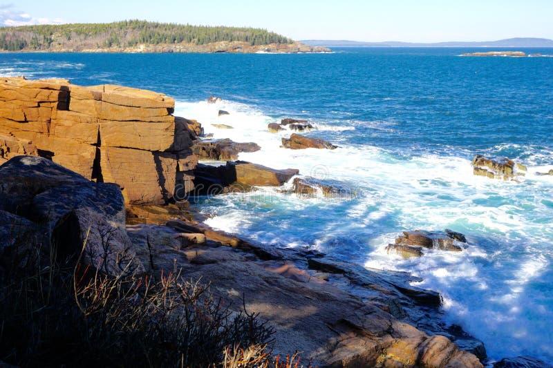 Maine Coastline fotos de archivo libres de regalías