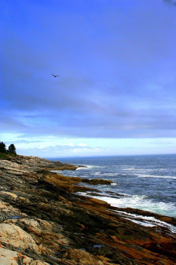 Maine Coastline lizenzfreie stockfotos