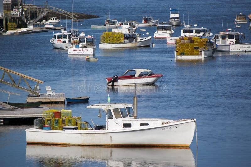 Maine Harbor fotos de stock royalty free