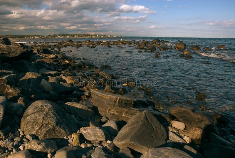 Maine-Küste stockbilder