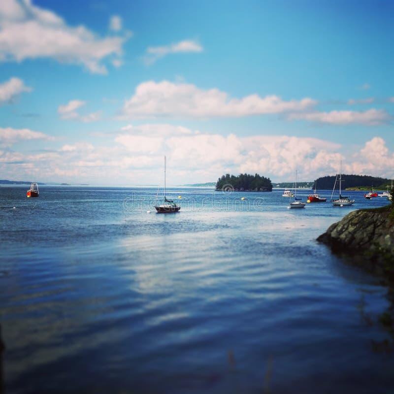 Maine-Küste lizenzfreies stockfoto